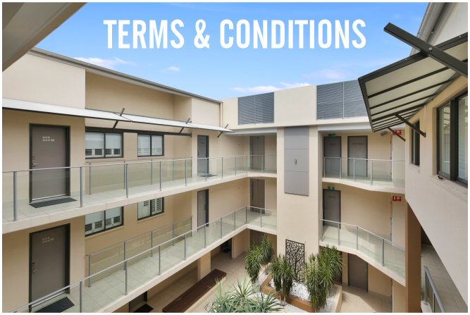 Eden by the Bay Apartments Terms & Conditions